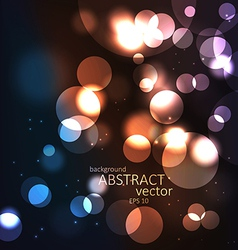 Abstract light background vector