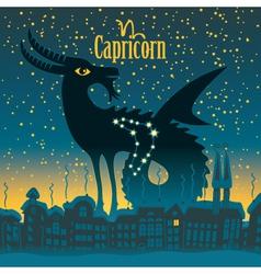 Capricorn vector