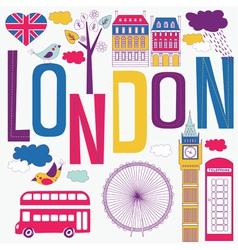 London artistic vector