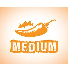 Medium chilli vector