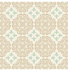 Beige wallpaper pattern vector