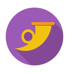 Post symbol single icon vector