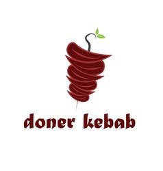 Abstract doner kebab vector