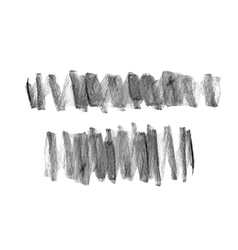 Hand drawn scribble chalk marks textures vector