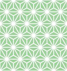 Hexagon starburst vector