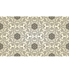Vintage highly detailed seamless patten vector