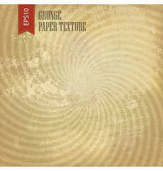 Grunge sunburst background vector