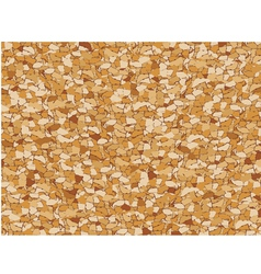 Cork seamless pattern vector