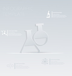 Bulb template graphic or website layout vector
