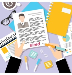 Business cv background vector