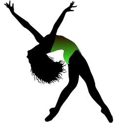 Jazz dancer vector