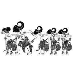 Pandawa vector
