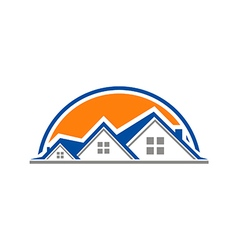 House properties home logo vector