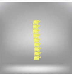 Symbol spine vector