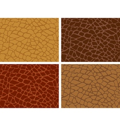 Crocodile skin seamless vector