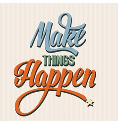 Make things 1 vector