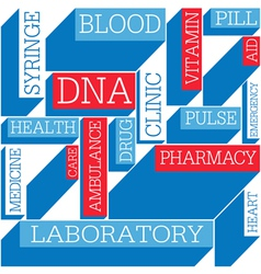 Medicine themed background seamless vector