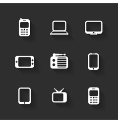 Design flat icons vector