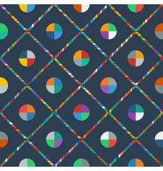 Colorful seamless pattern vector