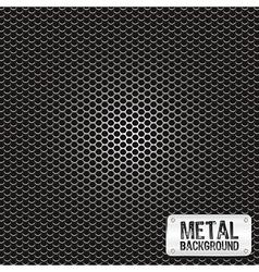 Metal grid pattern vector