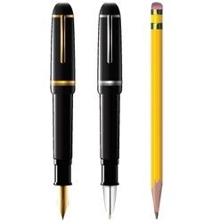 Pencil pen fpen vector