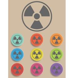 Radiation sign - vector