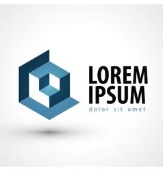 Technology logo design template busines or vector