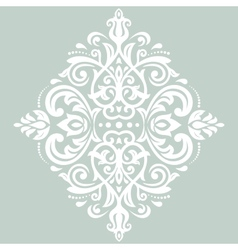 Damask pattern orient ornament vector