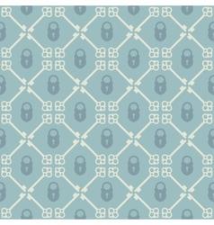 Keys seamless pattern vector