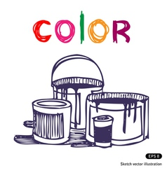 Color banks vector
