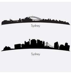 Sydney skylines vector