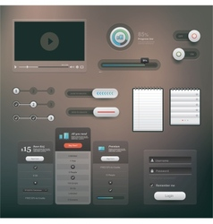 Ui set vector