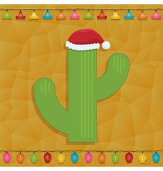 Mexican christmas decoration vector