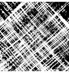 Distress checker texture diagonale vector