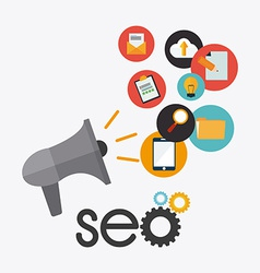 Seo design vector