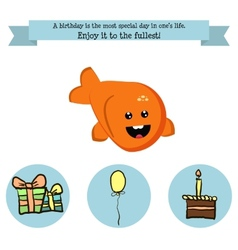 Congratulations birthday with a character vector