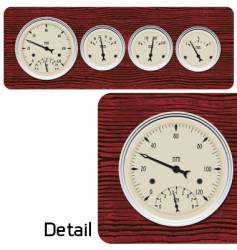 Antique gages vector