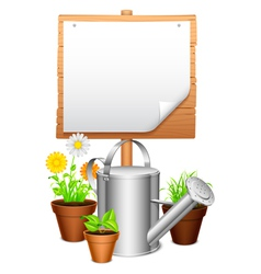 Garden equipment vector