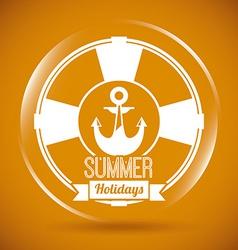 Summer design vector