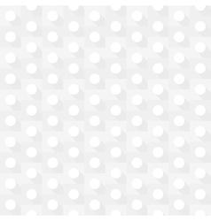 White geometric circle seamless background vector