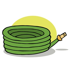 Cartoon hose vector