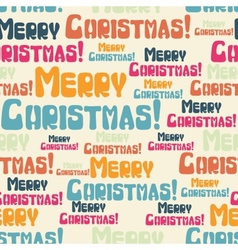 Merry christmas seamless pattern vector