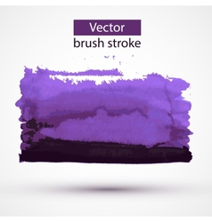 Paint stroke design element vector