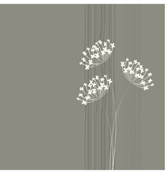 Flower background simple and clean design template vector
