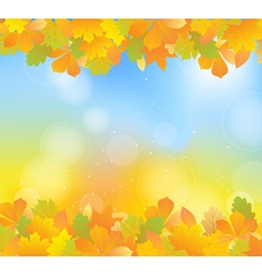 Autumn blue topbot vector