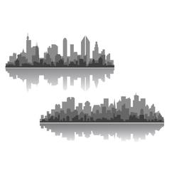 Modern cityscapes designs vector
