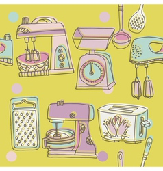 Scrapbook background sketches vector