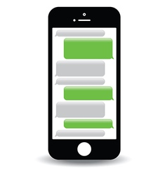 Phone text message vector