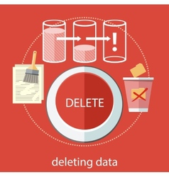 Deleting data vector