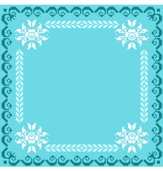 Ukrainian national pattern vector